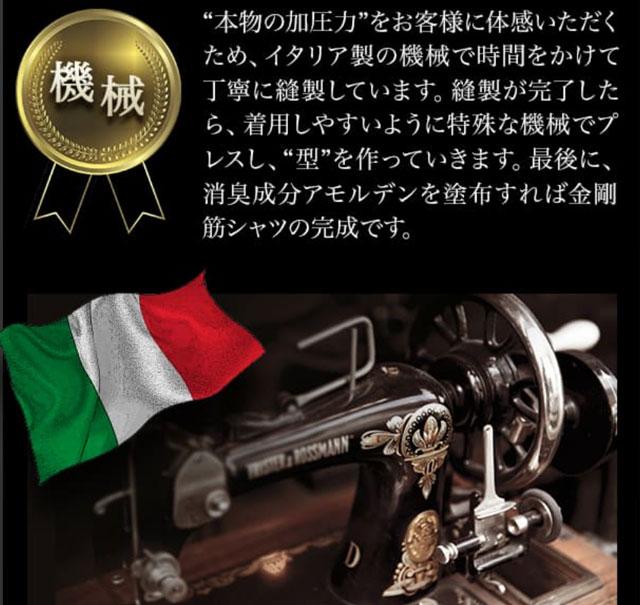 イタリア製の機械